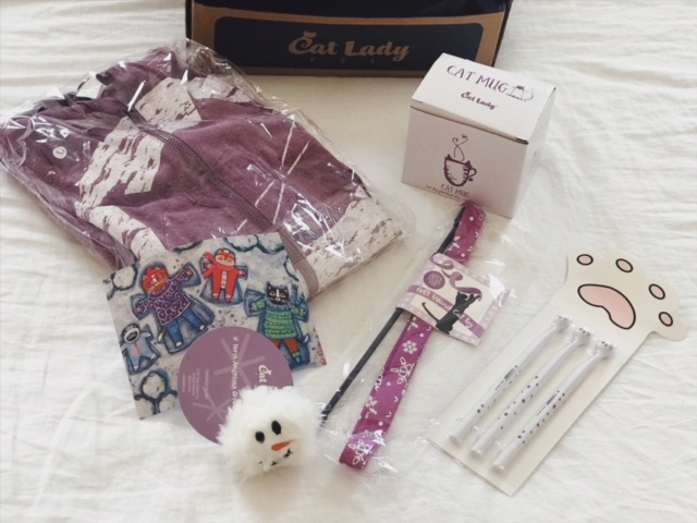 CatLady Winter Subscription box