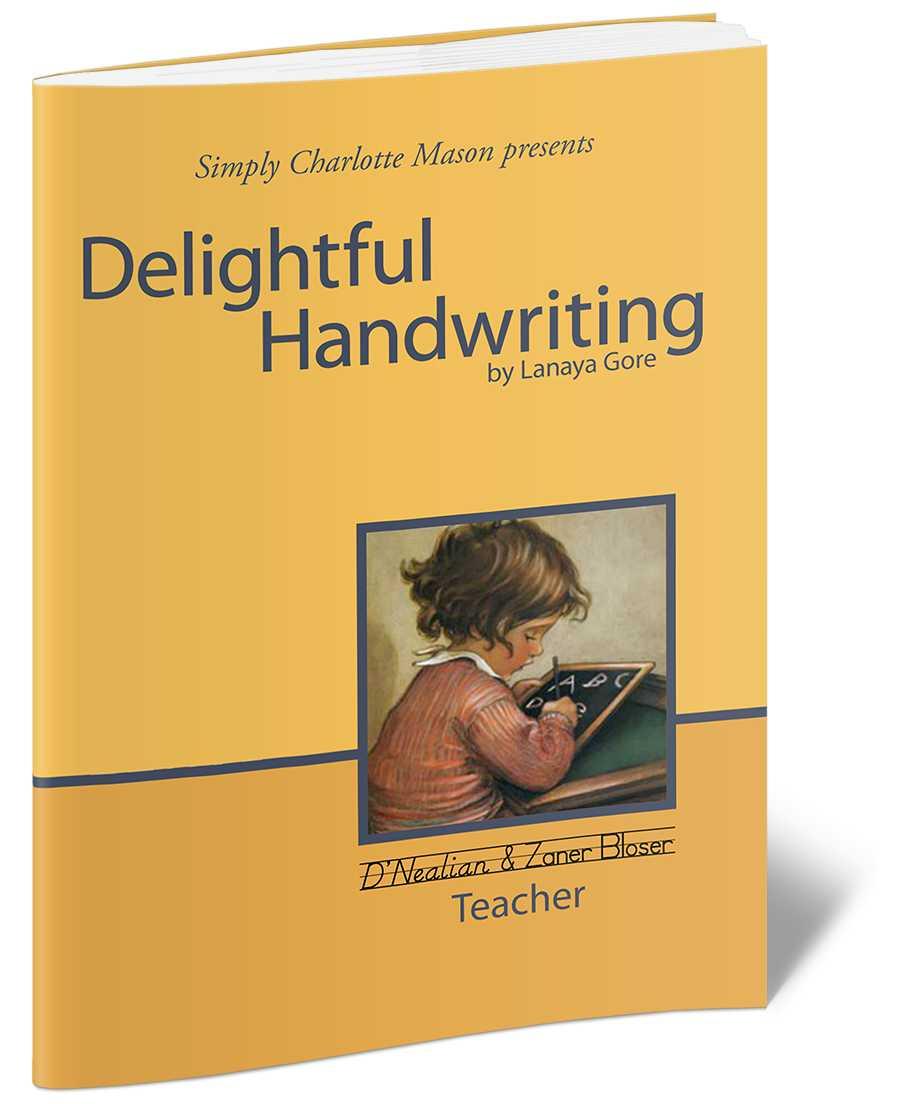 delightful handwriting D'nealian