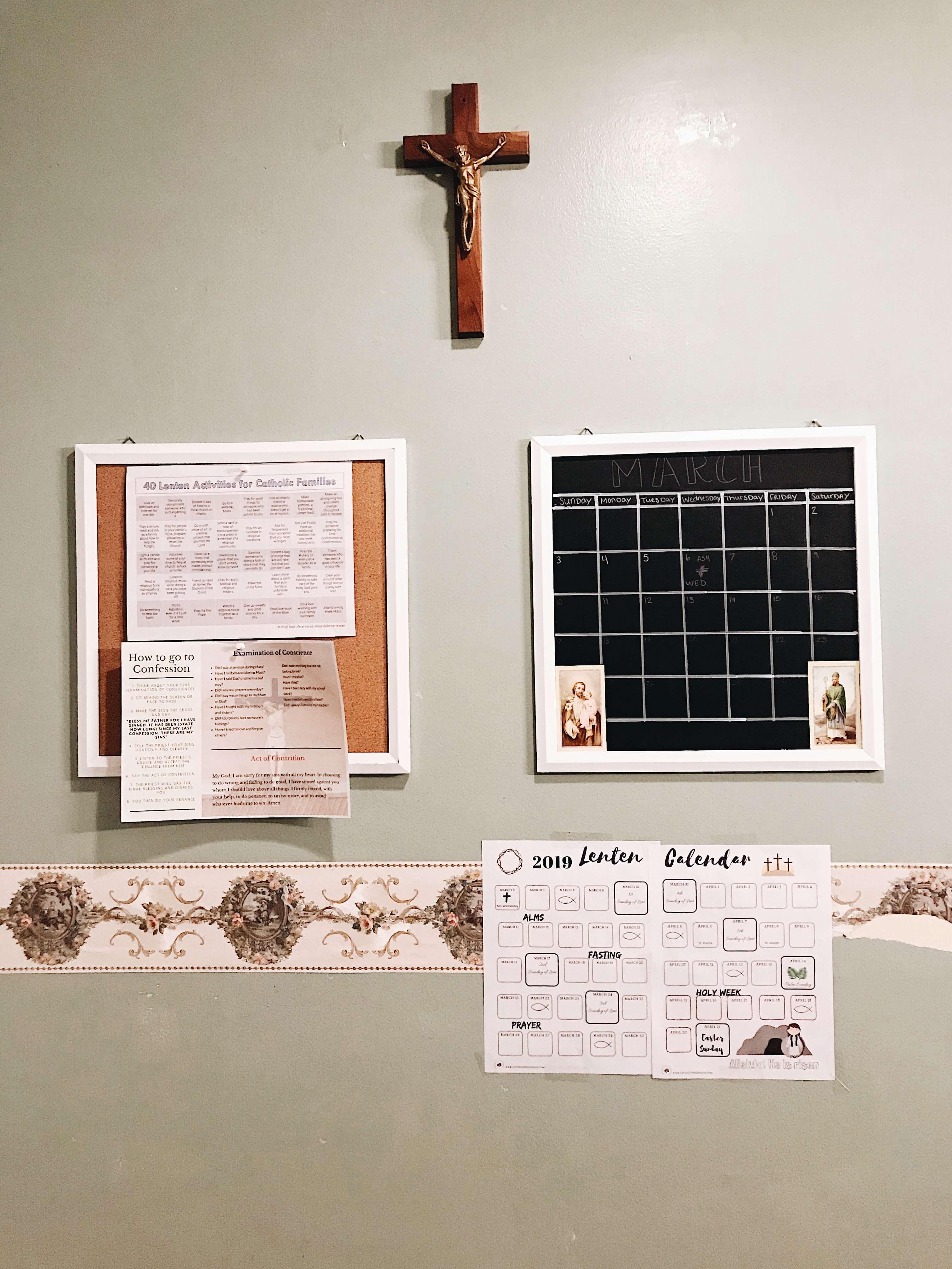 Lent setup